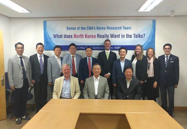 제70회(미 해군연구소(CNA) 한국전문가팀 연구소 방문—토론 개최)